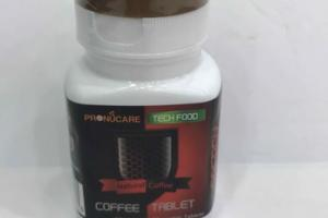 NATURAL COFFEE CHEWABLE TABLETS