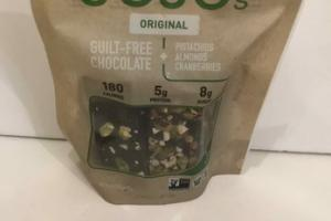ORIGINAL GUILT-FREE CHOCOLATE + PISTACHIOS ALMONDS CRANBERRIES