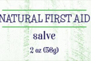NATURAL FIRST AID, SALVE