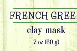 CLEANSE CLAY MASK, FRENCH GREEN