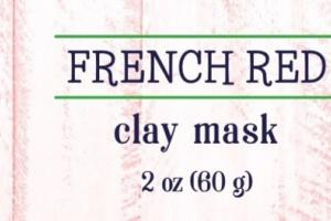 REGENERATE CLAY MASK, FRENCH RED