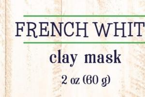 SENSITIVE CLAY MASK, FRENCH WHITE