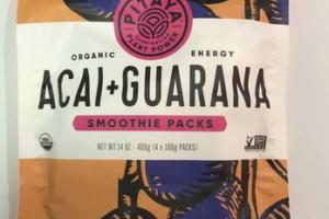 ACAI + GUARANA SMOOTHIE PACKS