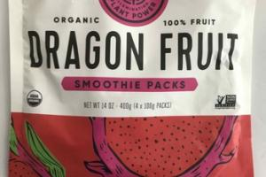 ORGANIC 100% FRUIT DRAGON FRUIT