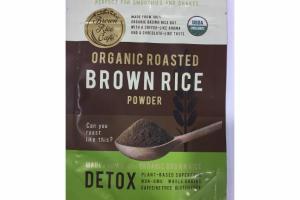ORGANIC ROASTED BROWN RICE POWDER
