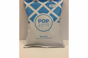 SEA SALT HEALTHY POPCORN