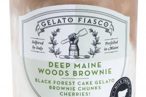 DEEP MAINE WOODS BROWNIE BLACK FOREST CAKE GELATO
