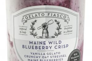 VANILLA GELATO CRUNCHY OAT STREUSEL MAINE BLUEBERRIES
