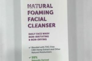 NATURAL FOAMING FACIAL CLEANSER