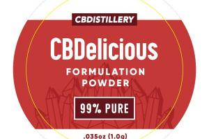 CBDELICIOUS FORMULATION POWDER