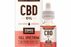 FULL SPECTRUM CBD 33MG OIL HEMP SUPPLEMENT OIL