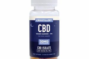 ISOLATE CBD 30MG HEMP SUPPLEMENT VEGAN GUMMIES