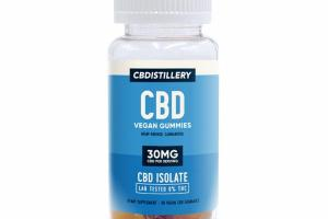 CBD ISOLATE HEMP SUPPLEMENT VEGAN CBD GUMMIES