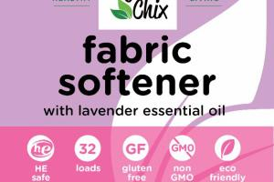 FABRIC SOFTENER WITH LAVENDER ESSENTIAL OIL