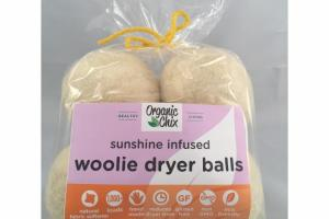 SUNSHINE INFUSED WOOLIE DRYER BALLS