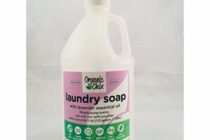 LAUNDRY SOAP WITH LAVENDER ESSENTIAL OIL