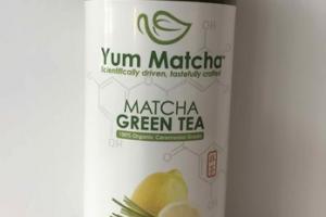 CITRON LEMONGRASS 100% ORGANIC CEREMONIAL GRADE MATCHA GREEN TEA