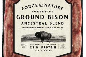 100% GRASS FED GROUND BISON ANCESTRAL BLEND