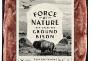 100% GRASS FED GROUND BISON