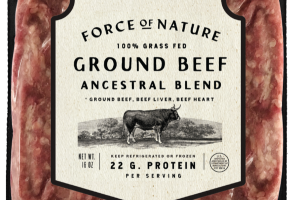100% GRASS FED ANCESTRAL BLEND GROUND BEEF