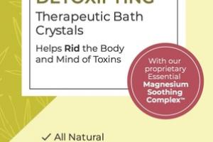 DETOXIFYING THERAPEUTIC BATH CRYSTALS