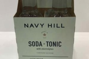 JUNIPER SODA + TONIC WITH ELECTROLYTES