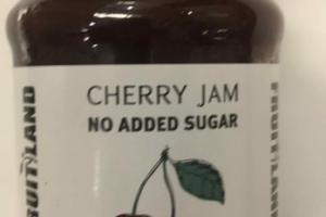 NO ADDED SUGAR CHERRY JAM