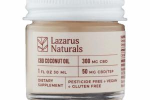 CBD 300 MG COCONUT OIL DIETARY SUPPLEMENT
