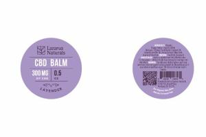 300 MG OF CBD BALM, LAVENDER