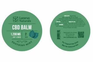 1,200 MG OF CBD BALM, SOOTHING MINT