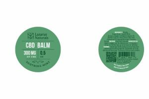 300 MG OF CBD BALM, SOOTHING MINT