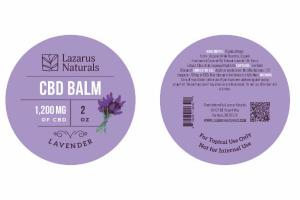 1,200 MG OF CBD BALM, LAVENDER