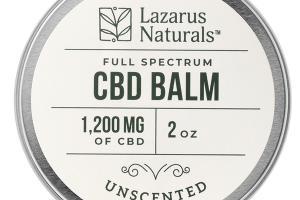 CBD 1,200 MG UNSCENTED FULL SPECTRUM BALM
