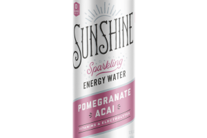 POMEGRANATE ACAI SPARKLING ENERGY WATER