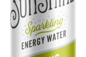 CITRUS LIME SPARKLING ENERGY WATER