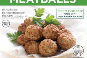 ORGANIC GRASS FED BEEF MEATBALLS