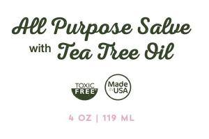 ALL PURPOSE SALVE WITH TEA TREE OIL