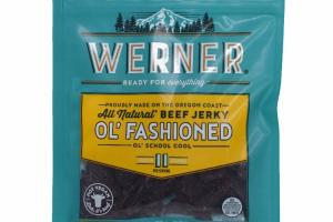 ALL NATURAL OL' FASHIONED BEEF JERKY