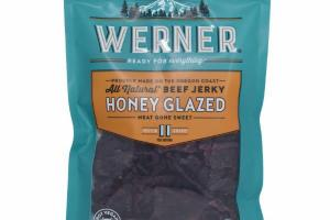 ALL NATURAL BEEF JERKY HONEY GLAZED MEAT GONE SWEET