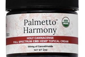 HOLY CANNACENSE FULL SPECTRUM CBD 100 MG HEMP TOPICAL CREAM