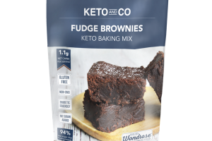 FUDGE BROWNIES KETO BAKING MIX