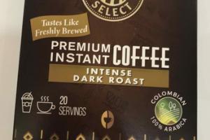 INTENSE DARK ROAST PREMIUM INSTANT COFFEE