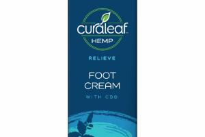 RELIEVE FOOT CREAM WITH CBD, PEPPERMINT