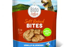 VANILLA BLUEBERRY SOFT BAKED BITES CBD BROAD SPECTRUM FOR DOGS