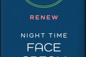 RENEW NIGHT TIME FACE CREAM WITH CBD, UNSCENTED