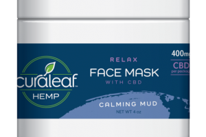 RELAX FACE MASK WITH CBD, CALMING MUD