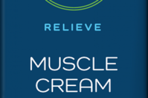 RELIEVE MUSCLE CREAM WITH CBD, MENTHOL