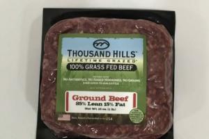 100% GRASS FED GROUND BEEF