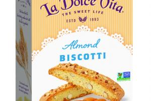 ALMOND MADE WITH CAGE FREE EGGS BISCOTTI