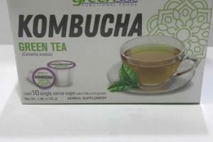 KOMBUCHA GREEN TEA HERBAL SUPPLEMENTS